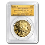 2013 1 oz Reverse Proof Gold Buffalo PCGS PR70 (FS) Gold Foil