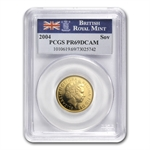 Great Britain 2004 Gold Sovereign PCGS PR-69 DCAM
