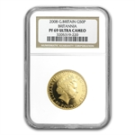 2008 1/2 oz Proof Gold Britannia PF-69 UCAM NGC