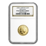 2008 1/4 oz Proof Gold Britannia PF-69 UCAM NGC