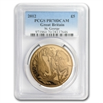 Great Britain 2012 5 pound Gold Sovereign PR-70 DCAM PCGS