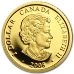 2008 1/20 oz Gold Canadian $1 - Louis d'or aux deux L