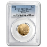 Great Britain 2012 Gold Sovereign PR-70 DCAM PCGS