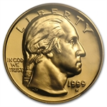 1999-W George Washington - $5 Gold Commem - PR-70 DCAM PCGS