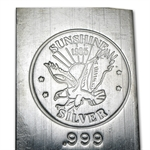 100 oz 1985 Sunshine Silver Bar (Vintage, Struck) .999 Fine