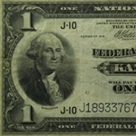Series 1918 (J-Kansas City) $1 FRBN (Fine)