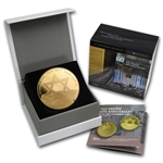 2013 Israel Yad Vashem Proof Gold 10 NIS Coin (w/ box & coa)