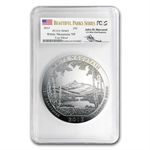 2013 5 oz Silver ATB - White Mountain MS-69 PCGS- APMEX/Ebay