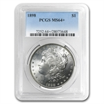 1898 Morgan Dollar - MS-64+ Plus PCGS