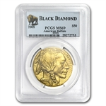 2006-2013 1 oz Gold Buffalo MS-69 PCGS Black Diamond 8-Coin Set