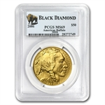 2006 1 oz Gold Buffalo MS-69 PCGS (Black Diamond)