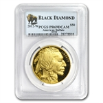 2012-W 1 oz Proof Gold Buffalo PR-69 PCGS (Black Diamond)