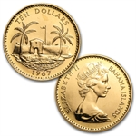 Bahamas 1967 4-Coin Gold Set (BU) AGW 2.118