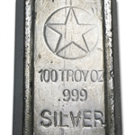 100 oz American Republic Silver Co. .999 Fine