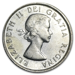 Canada 1956 Dollar Silver (Brilliant Uncirculated)