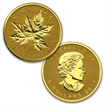 2014 4 Coin (1.4 oz) Gold Canadian Fractional Set - Maple Leaf