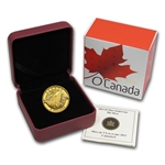 2013 1/10 oz Gold Canadian $5 - Orca
