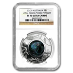2013 1 oz Proof Silver Pygmy Possum - Opal Series PF-70 ER NGC