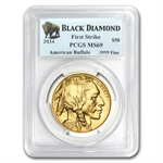 2014 1 oz Gold Buffalo MS-69 PCGS (FS) Black Diamond