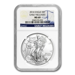 2014 Silver American Eagle MS-69 NGC Early Releases (Jan 31st)
