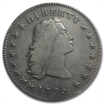 1795 Flowing Hair Dollar Very Fine-20 PCGS - 3 Leaves