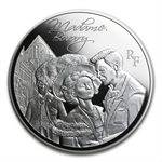 2013 10 Euro Silver Heroes of French Literature - Madame Bovary