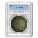 1799 Draped Bust Dollar Good-6 PCGS