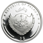 Palau 2013 Proof Silver $5 My Lovely Koala Bear