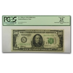 1934 (G-Chicago) $500 FRN (PCGS VF-25 App)