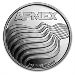 1 oz APMEX 2014 Stars and Stripes Silver Round .999 Fine