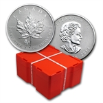 2014 1 oz Silver Maple Leaf Horse Privy 500-Coin Box Sealed