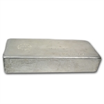 100 oz Hoover & Strong Silver Bar .999 Fine