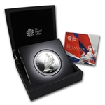 2013 5 oz Silver Proof Britannia (w/Box & CoA)