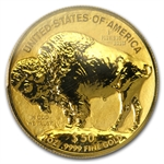 2013-W 1 oz Rev Proof Gold Buffalo PR-69 PCGS ANA (w/Signed CoA)