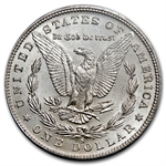 1880-S 8/7 Morgan Dollar - MS-63 PCGS Overdate Top 100