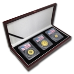 2000 Australian Gold Nugget PCGS WTC Ground Zero Gem 3 - Coin Set