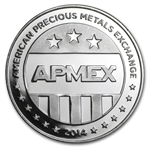 1 oz APMEX 2014 Eagle Eye Silver Round .999 Fine