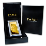 Minted Kilo Gold Bar – Pamp Suisse.9999 Fine – in Wood Case