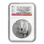 2011-P 9/11 National Medal - PF-69 UCAM NGC