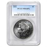 1878-1904 Morgan Dollars - MS-64 PL Proof Like PCGS