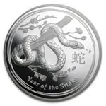 2013 Year of the Snake - 5 oz Silver Coin (SII) PF-69 UCAM NGC