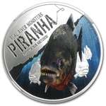 2013 1 oz Silver Niue $2 Real River Monster Piranha PF-70 NGC