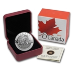 2013 1/2 oz Silver Canadian $10 Holiday Season (W/Box & COA)