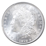 1878 Morgan Dollar - 7/8 Tailfeathers - Strong MS-64+ Plus PCGS