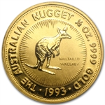 1993 1/2 oz Australian Gold Nugget