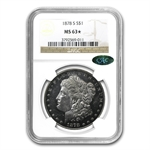 1878-S Morgan Dollar - MS-63* Star Designation NGC CAC