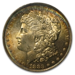 1883-O Morgan Dollar - MS-63 PCGS Russet Toning CAC