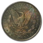 1888-O Morgan Dollar MS-63 PCGS Beautiful Toning CAC