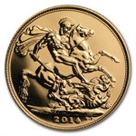 2014 Great Britain Gold Sovereign (New)