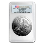 2012 5 oz Silver ATB - El Yunque MS-69 DMPL First Strike PCGS